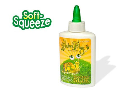 NaturePlay Soft-Squeeze Washable School Glue (4oz)