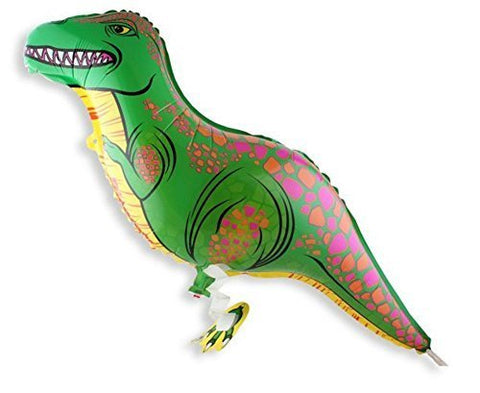 Walking Dinosaur Helium Balloon Birthday Kids Party Toy, Set of 3