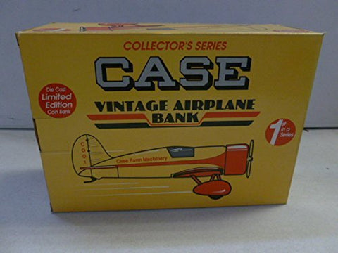 1992 Spec Cast Case Travel Air Model R Mystery Ship Vintage Airplane Bank 1:32
