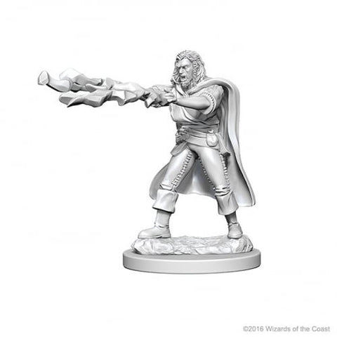 Dungeons & Dragons: Nolzur's Marvelous Unpainted Minis: Human Male Sorcerer by WizKids
