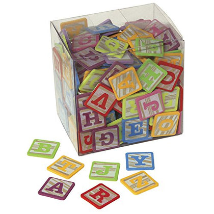 Pacon Wonderfoam Alphabet Stickers Blocks