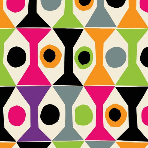 Ideal Home Range 20 Count Boston International 3-Ply Paper Cocktail Napkins, Marimekko