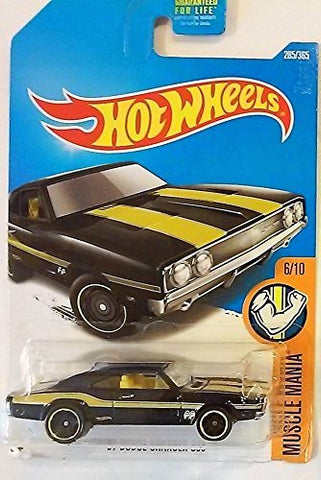 Hot Wheels 2017 Muscle Mania '69 Dodge Charger 500 285/365, Black