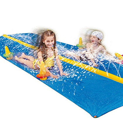 Jilong Ring Toss 2-Person Kids Water Slide for Ages 5+