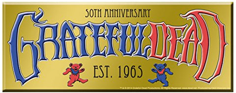C&D Visionary Grateful Dead 50th Anniversary Logo Sticker