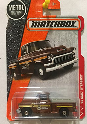 Matchbox, 2017 '57 GMC Stepside Truck [Brown] 80/125.