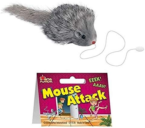 Funny Mouse Attack Practical Joke Gag Gift