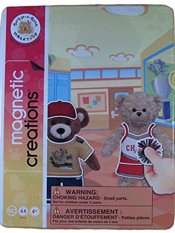 Magnetic Creations Build-A-Bear Workshop Play Set