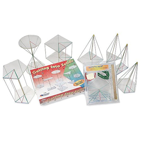 ETA hand2mind Getting Into Solids: Prisms & Pyramids Kit