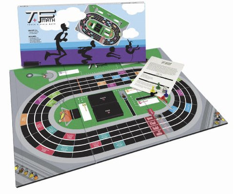 American Educational Track and Field Math Board Game