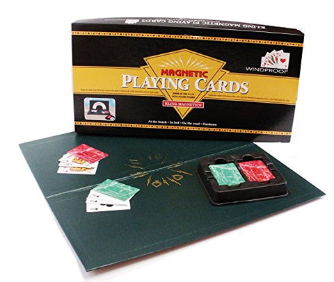 Kling Magnetics New Edition Playing Cards with Red Deck & Green Deck