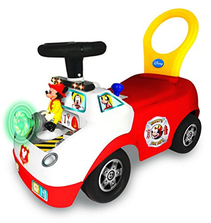 Disney Mickey Activity Fire Truck Ride-On