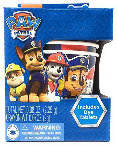 Paw Patrol Egg Coloring Cups - 5 Pieces