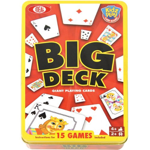 Big Deck Playing Cards-