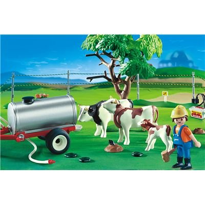 Playmobil Cow Pasture (D)