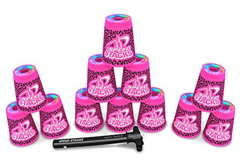 SPEED STACKS Set - Zippy Leopard
