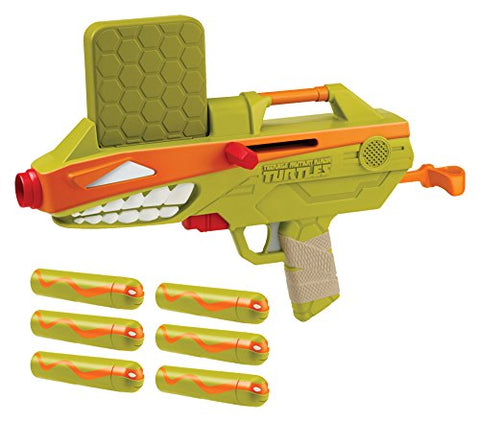 Teenage Mutant Ninja Turtles T-Blasts Shell Cannon Michelangelo Talking Blaster