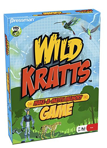 Wild Kratts Make A Match in Box Game