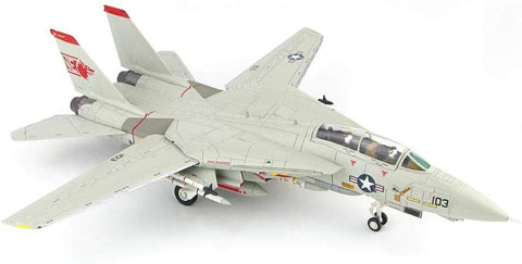 "Grumman F-14 Tomcat - Us Navy Vf-1""Wolfpack"",""Mi-8 Killer"" - 1/72 Scale Diecast Metal Airplane"