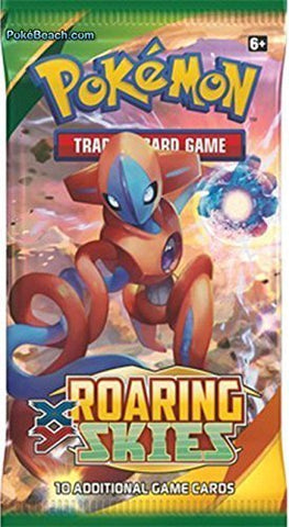 Pokemon TCG: XY Roaring Skies Booster Pack (3 Packs)