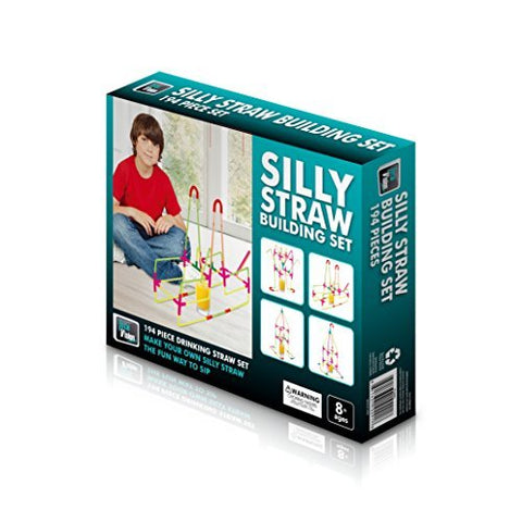 Silly Straw Building Set - 194 Pieces By Total Vision