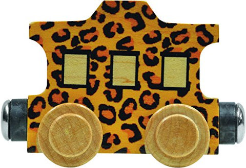 NameTrain Leopard Caboose - Made in USA
