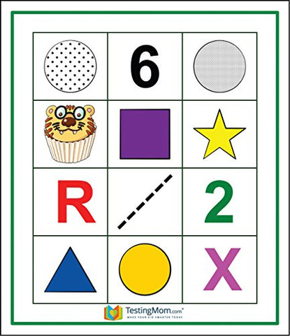 Gifted Testing Flash Cards Verbal Concepts and Vocabulary for Pre-K 2nd  Grade Kindergarten Educational Toy Practice for CogAT test, OLSAT test,  ITBS,