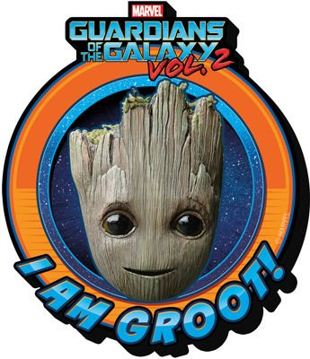 Marvel - Guardians of the Galaxy Vol 2 - Baby Groot Crest