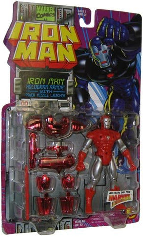 Iron Man Hologram Armor with Power Missile Launcher