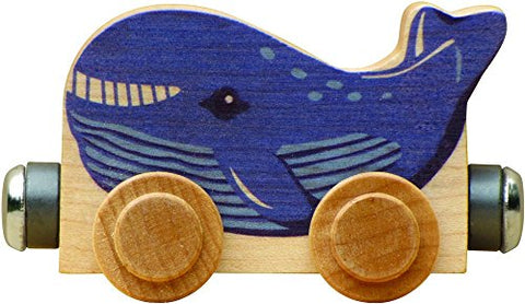 NameTrain - Wally Whale - Made in USA