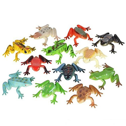 Poison Dart Frogs - 2  Plastic -