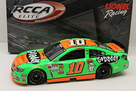 Danica Patrick 10 GoDaddy 2014 SS Chevrolet Sprint Cup Diecast Car, 1:24 Scale Elite HOTO, Official Diecast of NASCAR