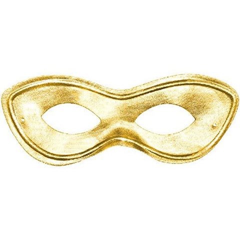 Amscan Superhero Mask, Party Accessory, Gold