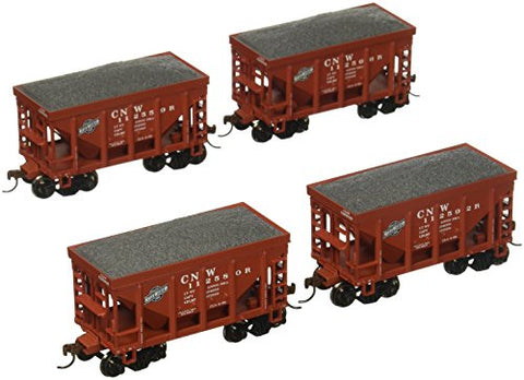 Roundhouse RND87103 HO 24' Rib Ore Car/Ld,C&NW 2(4) Toy Train Sets