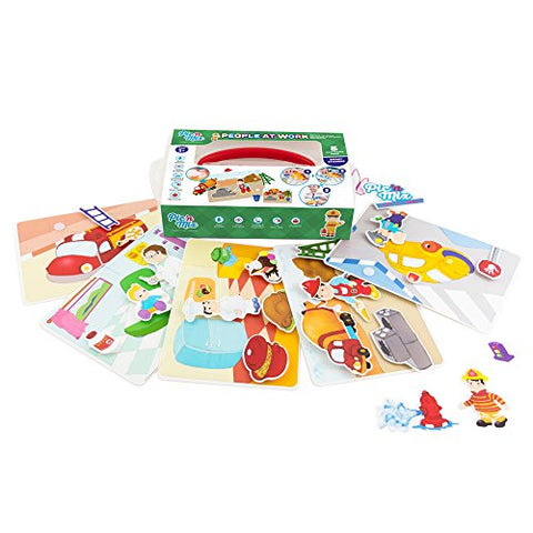 Picnmix PEOPLE AT WORK-Educational and Learning Toys and Games for 3 year olds to 7 year olds