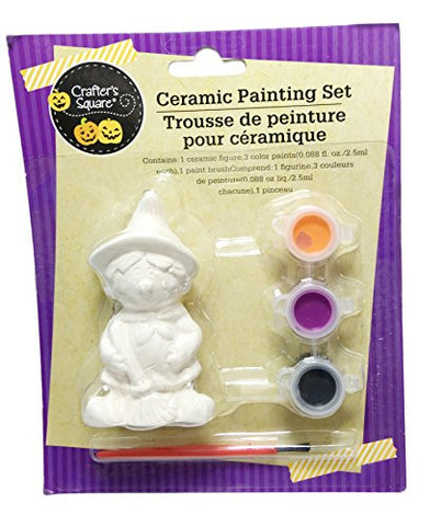 Halloween Ceramic Painting Set ~ Witch