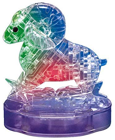 Gracesdawn Crystal Twelve Constellations Deluxe 3D Puzzle Colorful Crystal Decoration (Aries)