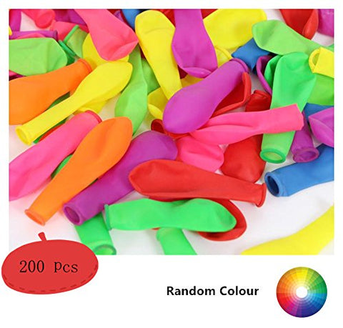 King&Pig 200 pcs 5  Latex balloons,water balloons,party balloons,birthday balloons,Shooting Target /Darting Target /Slingshot Target/Balloon Target/Water Fight balloons