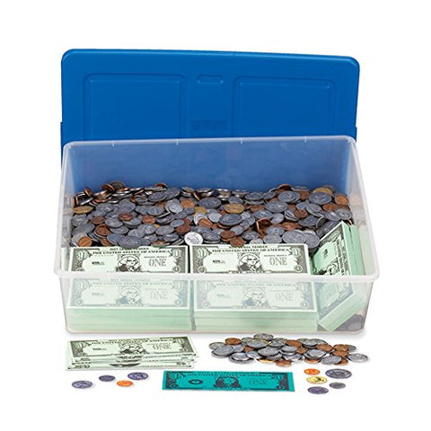 ETA hand2mind Play Money Bills and Coins Classroom Kit