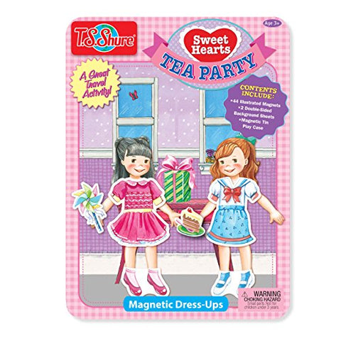 Sweet Hearts Tea Party Magnetic Tin Playset