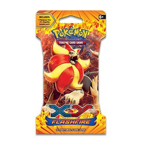 Pokmon Trading Card Game: XY Flashfire Sleeved Booster Pack