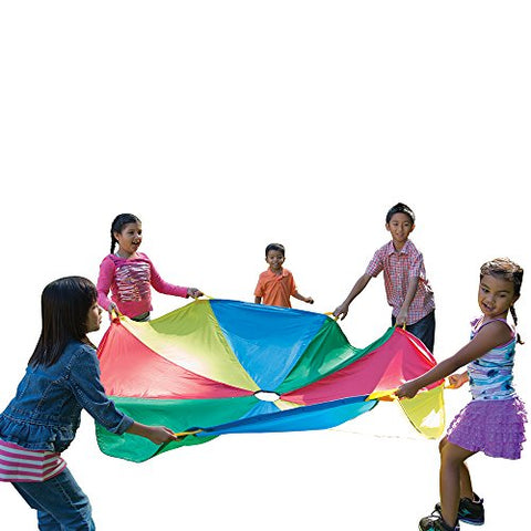 Pacific Play Tents Kids 6 Foot Parachute with Handles and Carry Bag