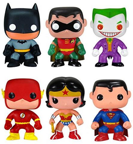 Funko Pop! Heroes DC Universe Classic Collection (Set of 6)