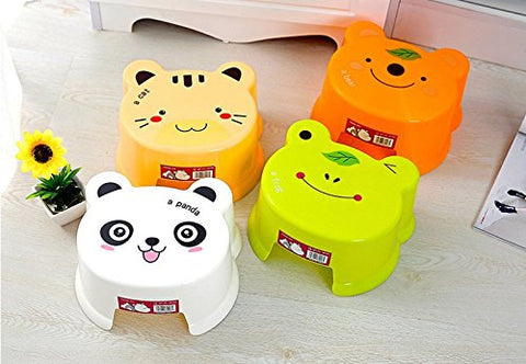 Step Stool For Kids / Anti-Slip Stool For Children - Perfect Using In Bedroom, Kitchen, Bathroom And Living Room - Ideal Gift For Kids - Different Cute Pictures For Optional