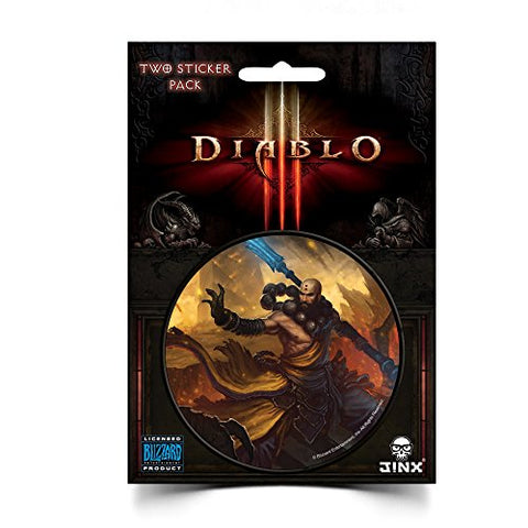 JINX Diablo III Monk Class Sticker (Multi-Color, 3 )