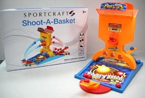 Sportcraft Shoot a Basket 1 or 2 player Basketball Game With Auto Scorer