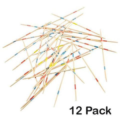 Wooden Pick Up Sticks Game - With Game Instructions - Loads Of Fun  By Kidsco