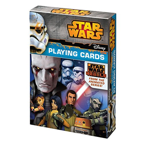 Star Wars Rebels Playing Cards