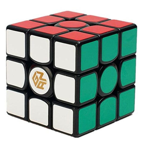 CuberSpeed Gans 3x3 Black Magic cube GAN 3x3x3 Speed cube puzzle ( Lite Version )