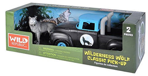 Wild Republic Adventure Series Pick Up Wolf Playset